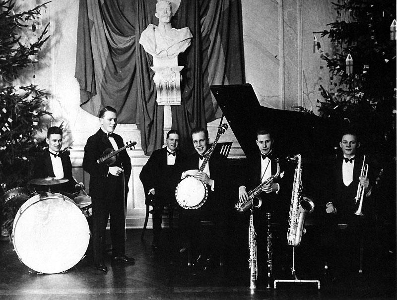 Curtz jazzorkester med Smyget 1926